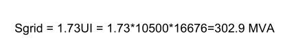 short circuit power formula